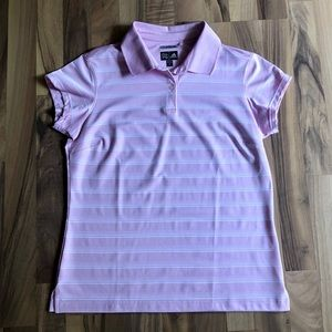 🆕Ladies soft pink ADIDAS climacool golf shirt.
